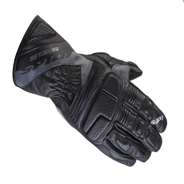 Spidi Gb Sts-S Leather Gloves Black & Anthracite