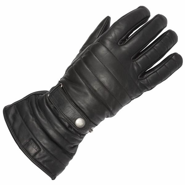Spada Leather Gloves Gauntlet Wp Black