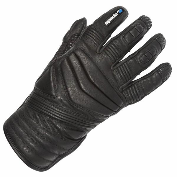 Spada Salt Flats Leather Gloves Black