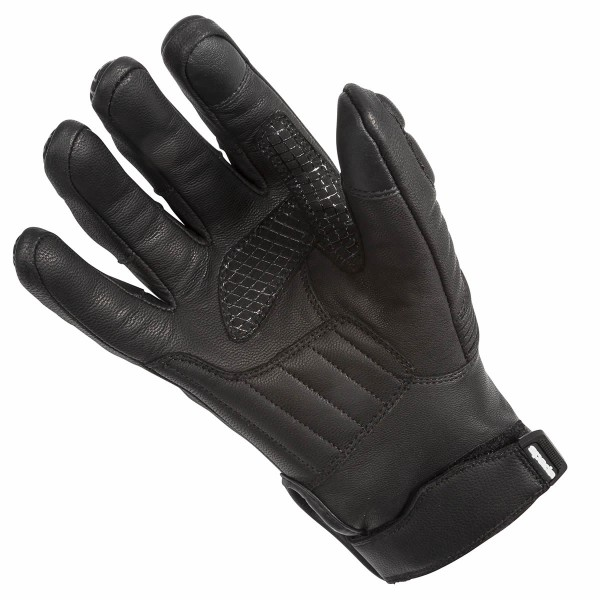 Spada Leather Gloves Salt Flats Black