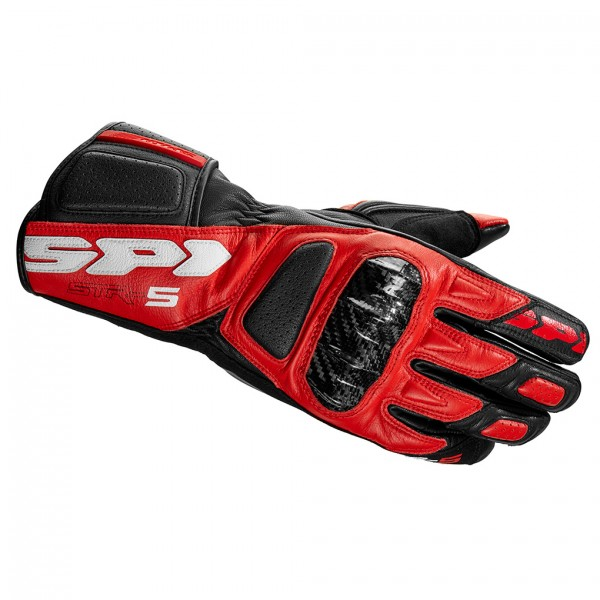 Spidi Gb Str 5 Gloves Red Black