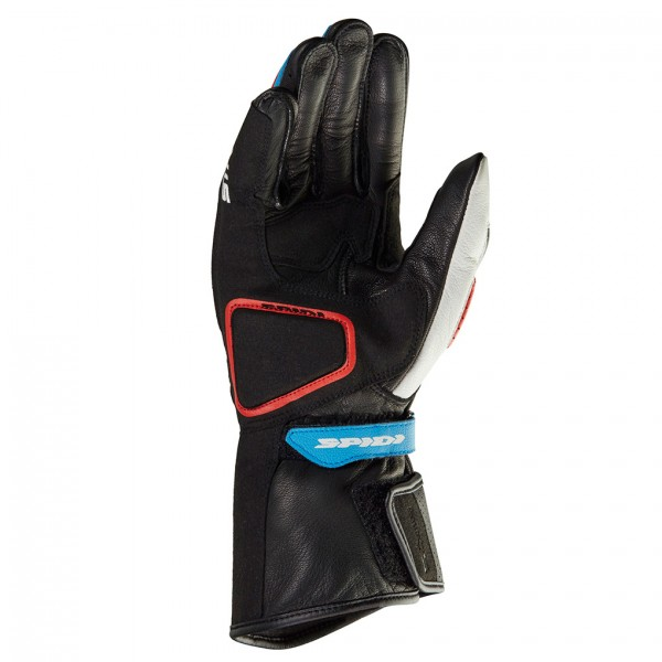 Spidi Gb Str 5 Gloves White Blue Red