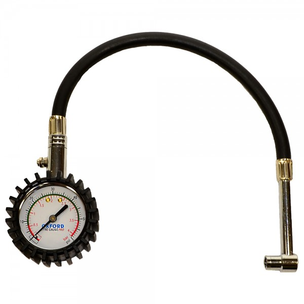 Oxford Tyre Gauge Pro (dial type)0-60psi