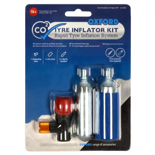 Oxford CO2yre Repair 2 Cycle Tyre Kit