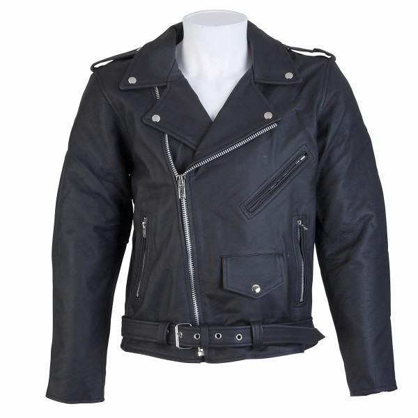 Spada Leather Jackets Cruiser Black