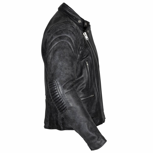 Spada Road Leather Jacket Black