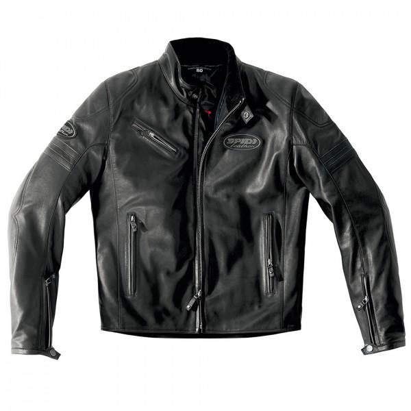 Spidi Gb Ace Leather Jacket Black