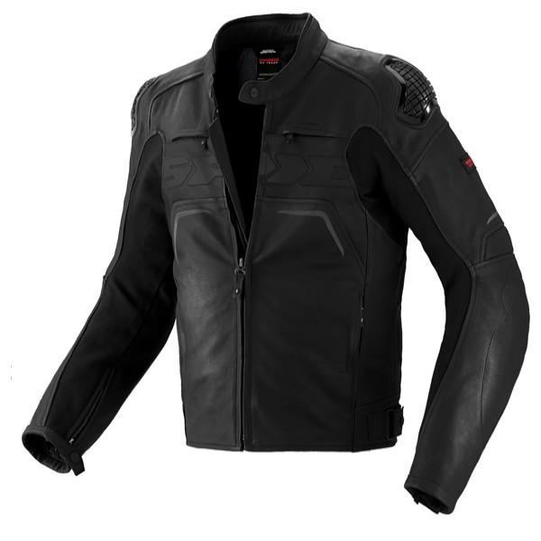 Spidi It Evo Rider Leather Jacket Black