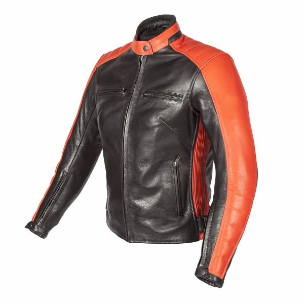 Spada Turismo Ladies Leather Jacket Black-Autumn Sun