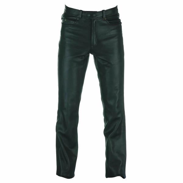 Spada Western Leather Trousers Black