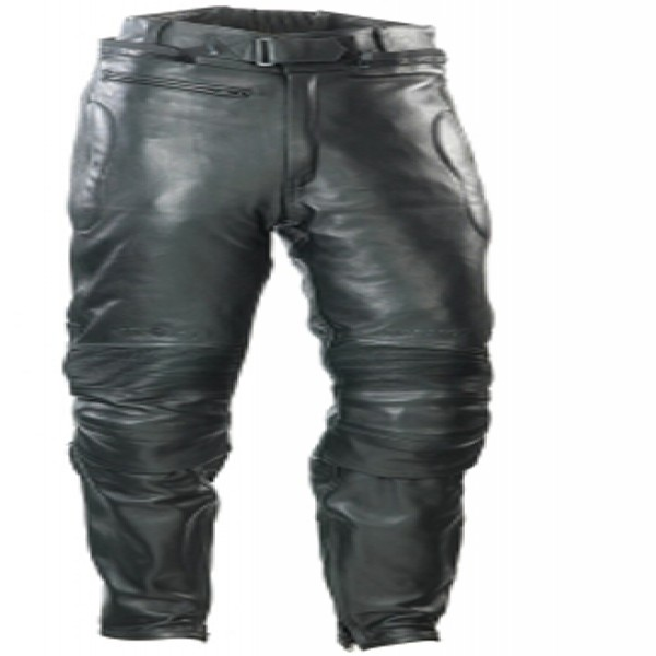 Spada Road Leather Trousers Black