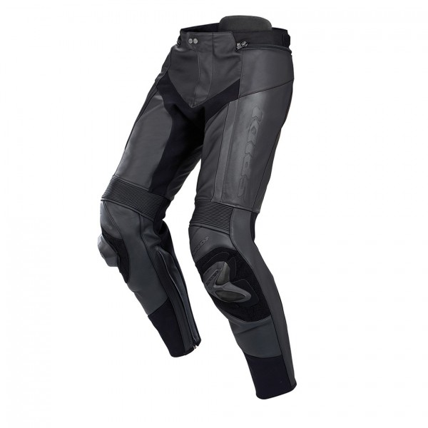 Spidi Gb Rr Pro Pants Leather Trousers Black & Black