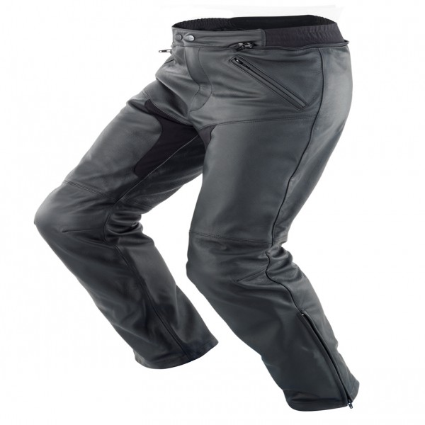 Spidi It New Naked Lady Leather Trousers Black