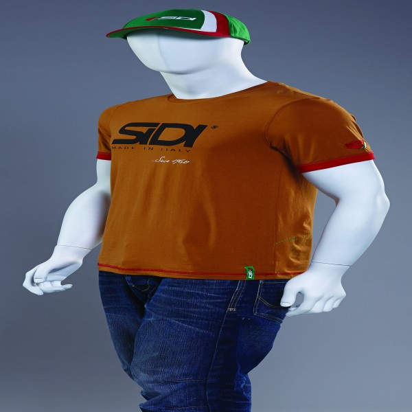 Sidi Casuals T-Shirt-Since 60 Burnt Sienna