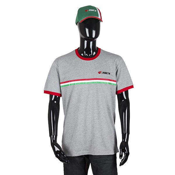 Sidi Casuals T-Shirt-Sprint Grey