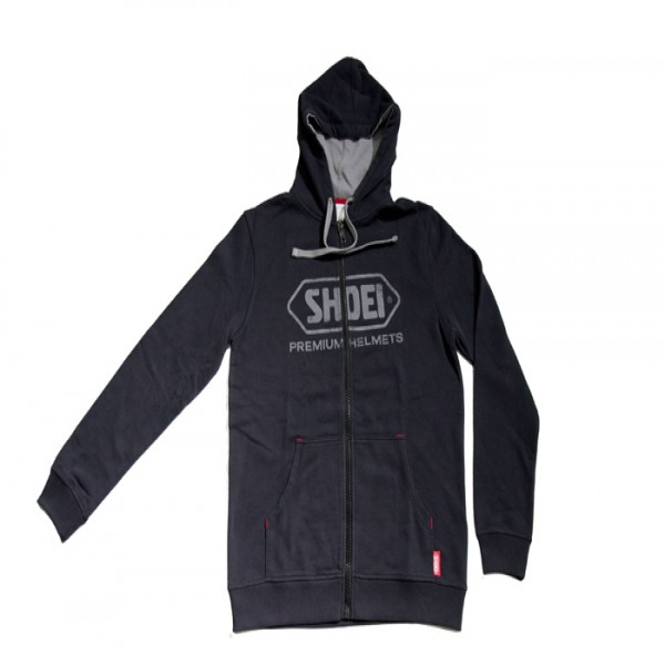 SHOEI Zipped Hoodie  Black