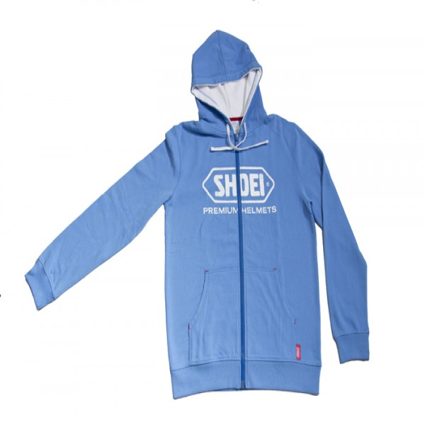 SHOEI Zipped Hoodie  Blue