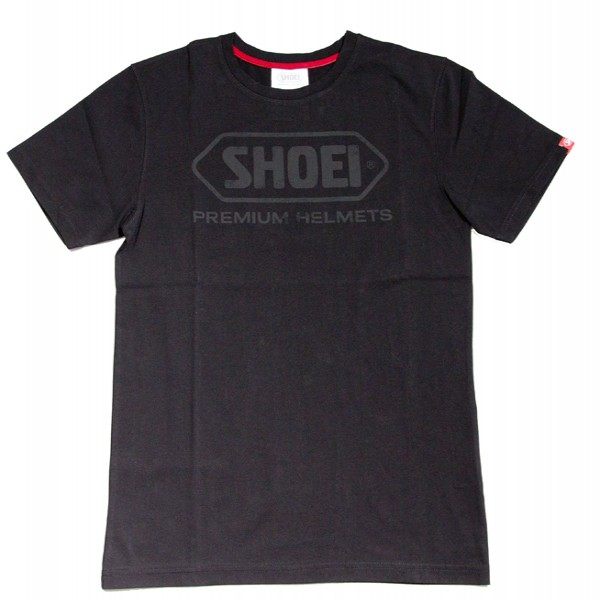 SHOEI T-Shirt  Black