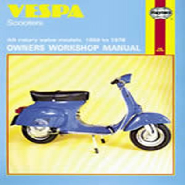 Haynes Manual 126 Vespa Scooters