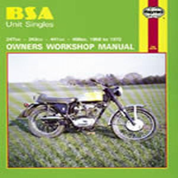 Haynes Manual 127 Bsa Unit Singles