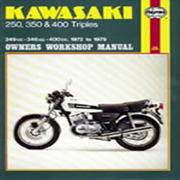 Haynes Manual 134 Kaw 250/350/400 [3 Cylinder]