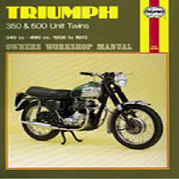 Haynes Manual 137 Triumph 350/500 Unit Twins-S