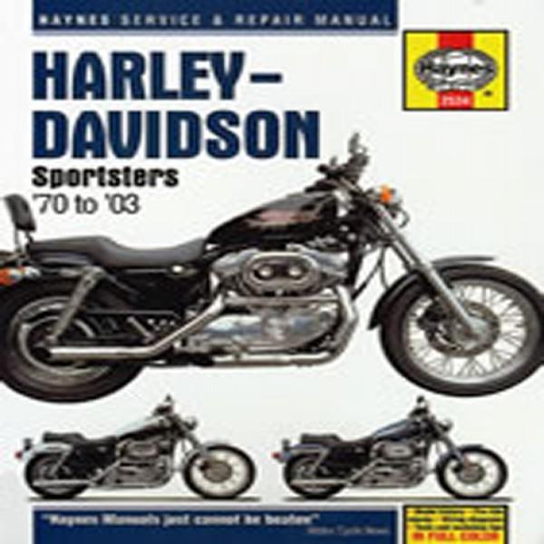 Haynes Manual 2534 Harley-Davidson Sportsters 70-10