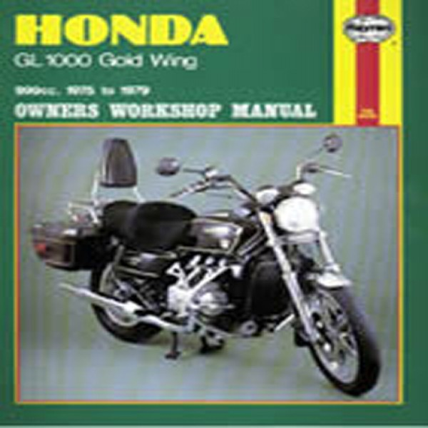 Haynes Manual 309 Hon Gl1000 Goldwing