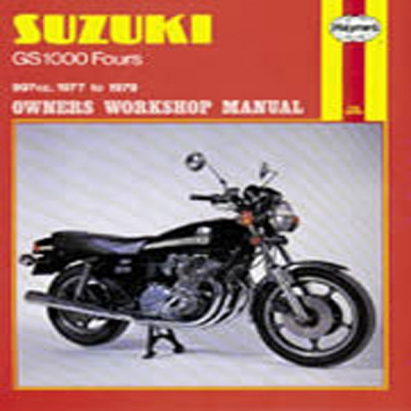 Haynes Manual 484 Suz Gs1000 Four 77-79