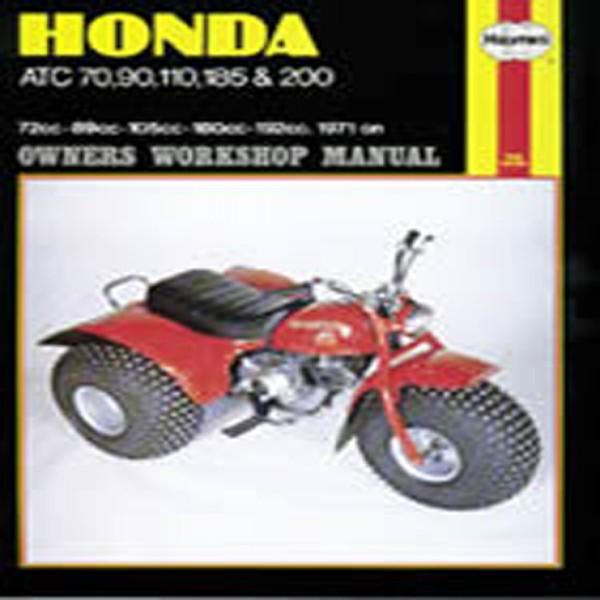 Haynes Manual 565 Hon Atc 70/90/110/185/200