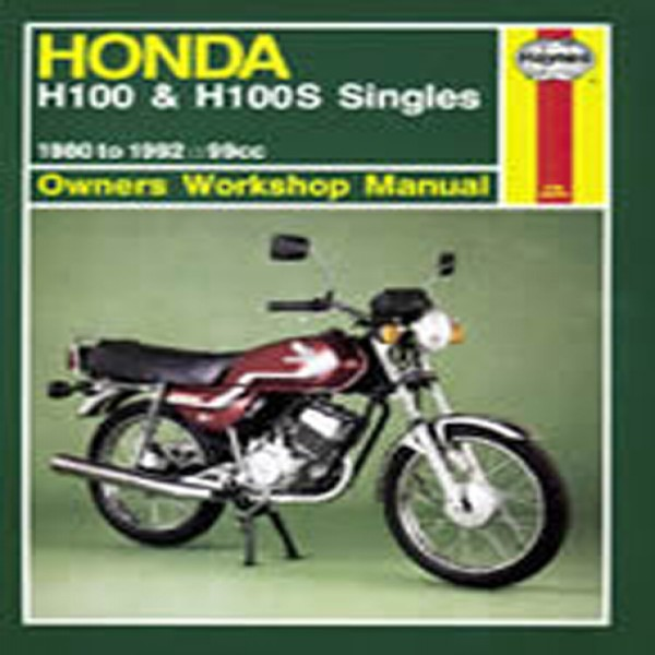 Haynes Manual 734 Hon H100A