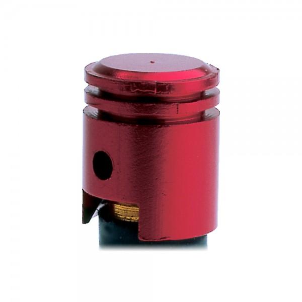 Oxford Piston Valve Caps Red