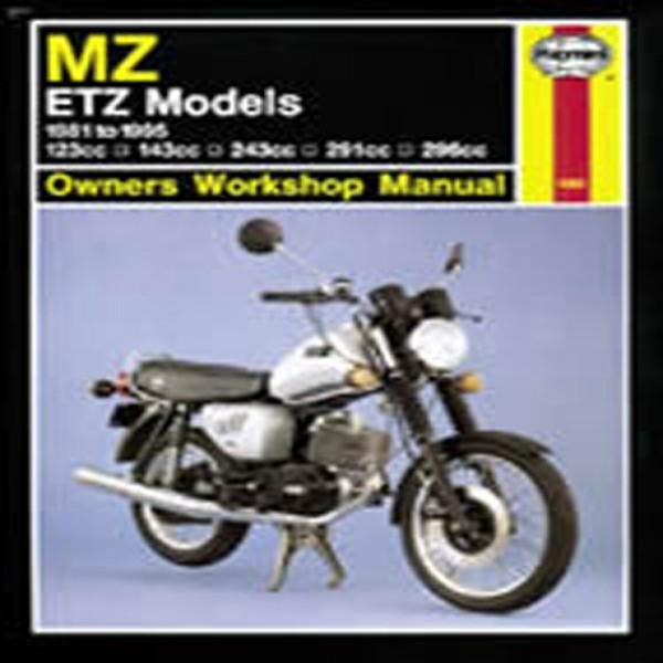 Haynes Manual 1680 Mz/etz