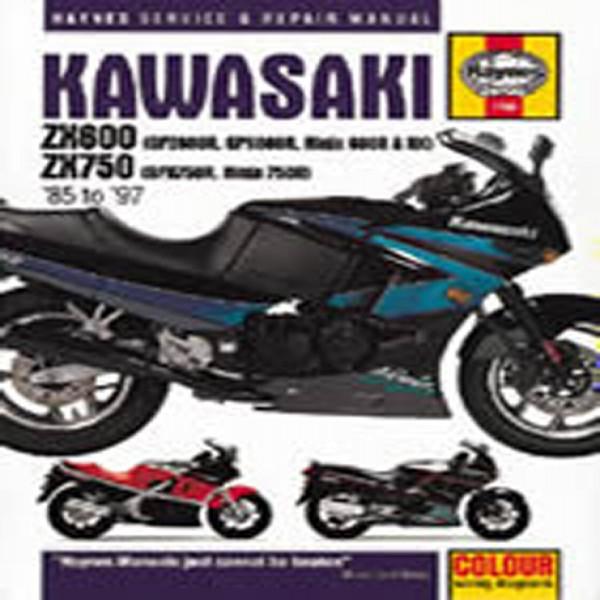 Haynes Manual 1780 Kaw Zx600 Fours