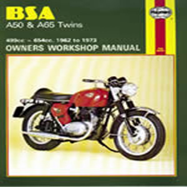 Haynes Manual 155 Bsa A50 & A65 Twins
