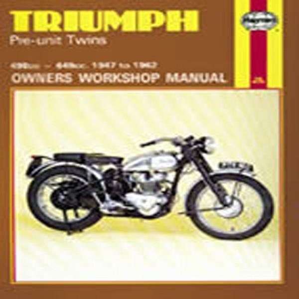Haynes Manual 251 Triumph Pre-Unit Twins
