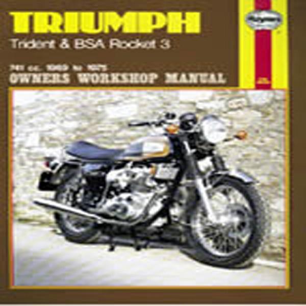 Haynes Manual 136 Triumph Trident & Bsa Rocket 3