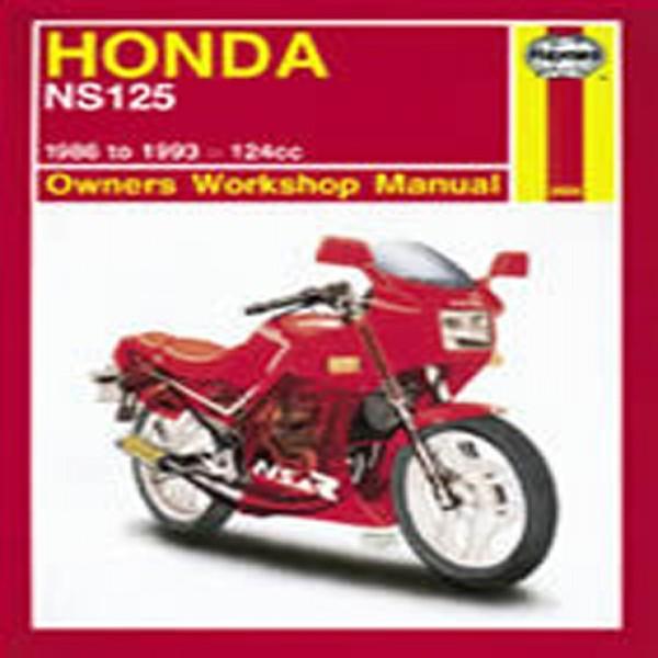 Haynes Manual 3056 Hon Ns125