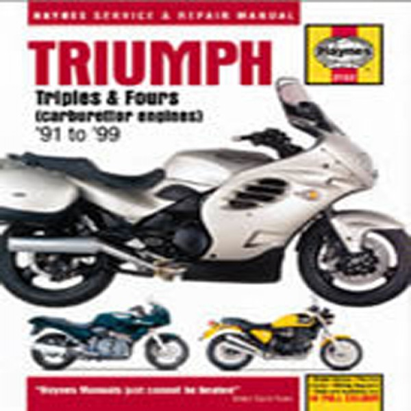 Haynes Manual 2162 Triumph Triples & Fours 91-04 Carb Engines