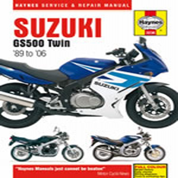 Haynes Manual 3238 Suz Gs500E Twins 91-05