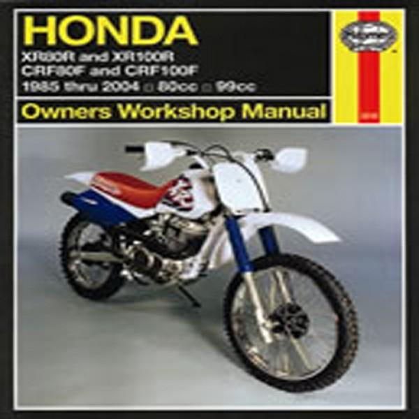 Haynes Manual 2218 Hon Xr80R & Xr100R