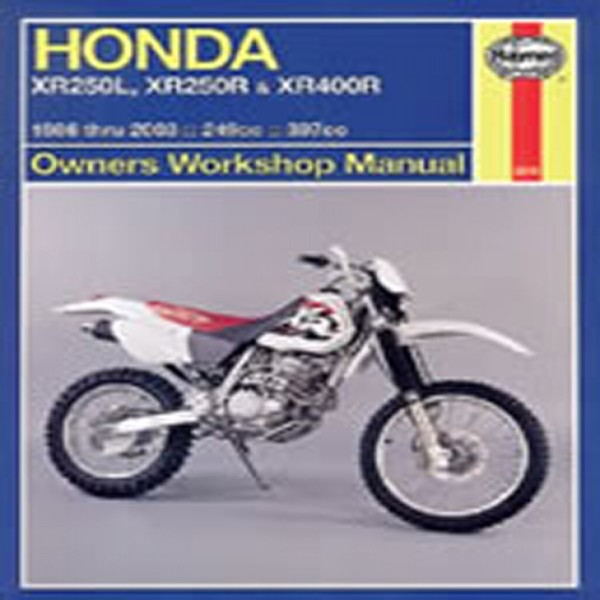 Haynes Manual 2219 Hon Xr250L,xr250R & Xr400R 86-03+T11316