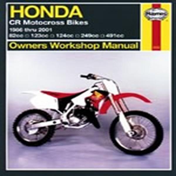 Haynes Manual 2222 Hon Cr80/125/250500R 86-07
