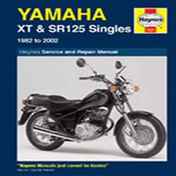 Haynes Manual 1021 Yam Xt & Sr125