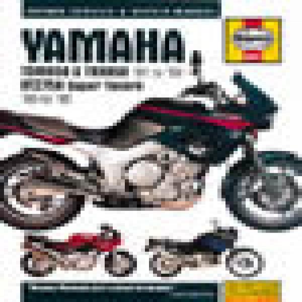 Haynes Manual 3540 Yamaha Tdm850/trx850 & Xtz750