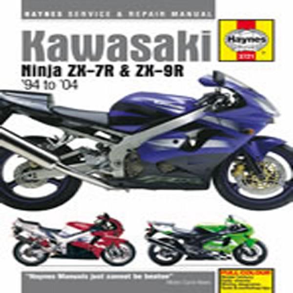 Haynes Manual 3721 Kaw Ninja Zx-7R & Zx-9R