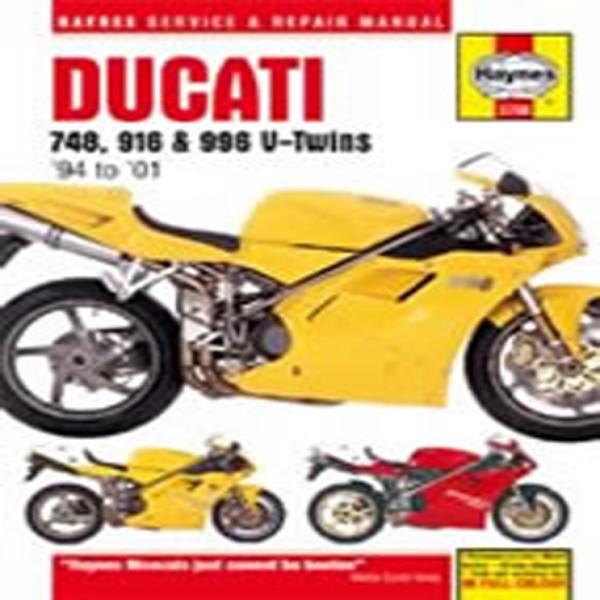 Haynes Manual  3756 Ducati 748/916/996 V-Twins