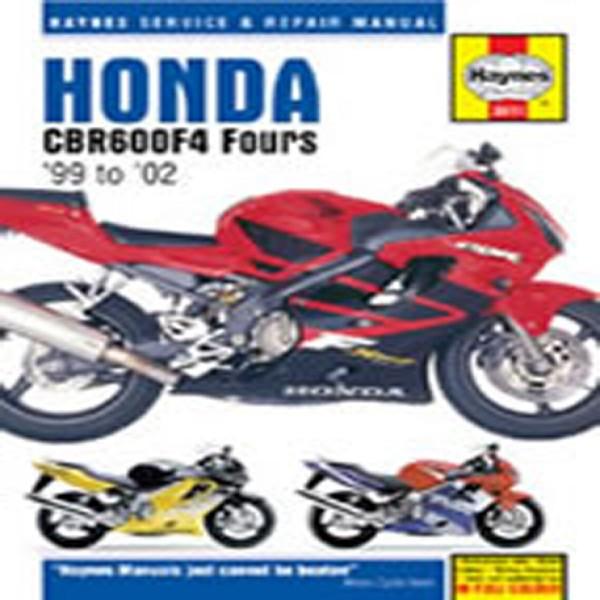 Haynes Manual  3911 Hon Cbr600 F4 99-06+T11347