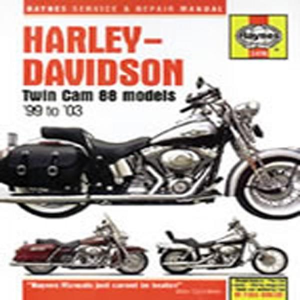 Haynes Manual 2478 Harley Davidson Twin Cam 88 [99-03]