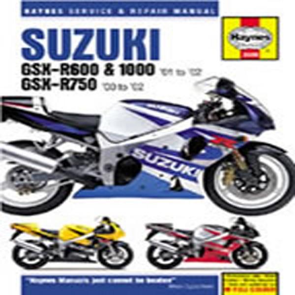 Haynes Manual  3986 Suz Gsx-R600,750,1000 K1-K3 00 & T1142401-03